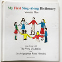 My first sing along dictionary large
