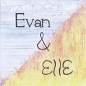 falling up art--Evan & Elle by fallingupart
