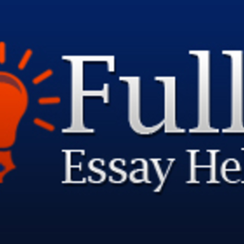 full essays Place a 'write my essay' order and get online academic help from cheap essay writing service 24/7 non-plagiarized essay writer help from $10 per.